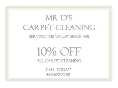 Mr Ds Carpet Cleaning 10 Percent Off Carpet Cleaning Coupon