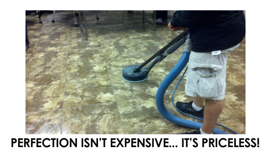 Perfection Isnt Expensive Its Priceless In Carpet Cleaning